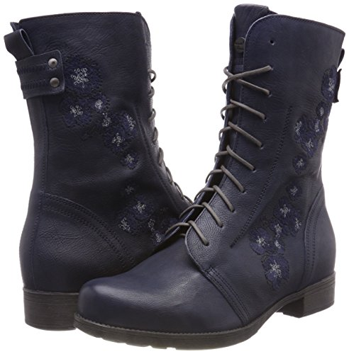 Navy Boots Women's kombi 84 383027 Think Denk Ankle FwTqY