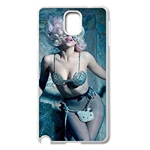 C-EUR Customized Print Lady Gaga Hard Skin Case Compatible For Samsung Galaxy Note 3 N9000