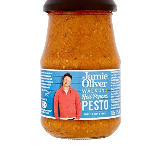 Jamie Oliver Walnut & Red Pepper Pesto 190g