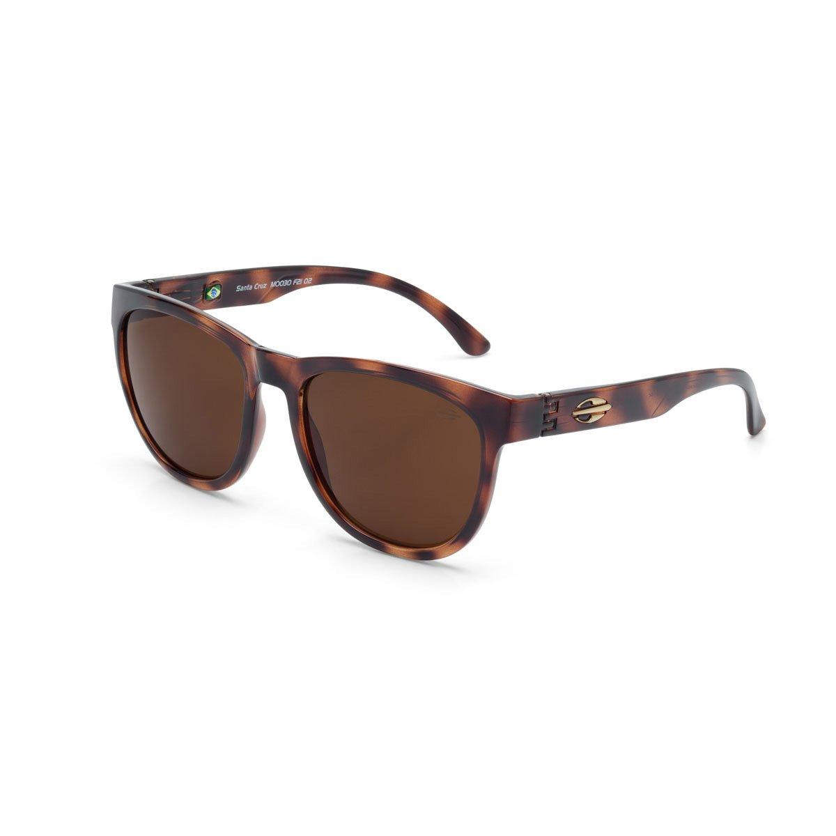 MORMAII Gafas de sol Santa Cruz, marrón con lentes marrón ...