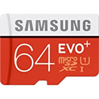 Samsung 64GB EVO Plus Class 10 Micro SDXC with Adapter 80mb/s