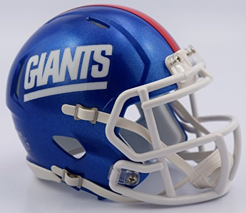 Riddell NFL New York Giants Retro Revolution Speed Mini Helmet (New York Giants Mini Speed Helmet)