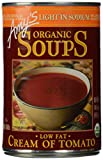 Amy's Organic Soups, Light in Sodium Cream Of Tomato, 14.5 Ounce