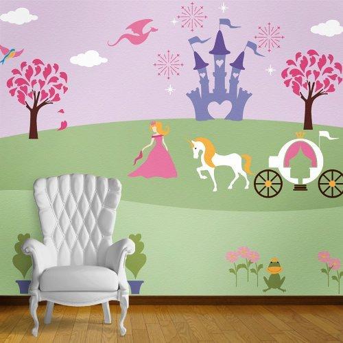 My Wonderful Walls Princess Theme Wall Stencils