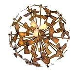Sagebrook Home 12102-01D Metal Tabletop Decor, 7.75 X 7.75 X 7.75, Copper