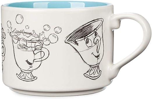 Amazon Com Disney Chip Animation Mug Beauty And The Beast Coffee Cups Mugs