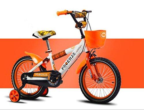 子供のバイク、赤ちゃんの少女サイクリング、子供の男の子のベビーカー ( 色 : オレンジ , サイズ さいず : 93cm ) B078KP7LDB 93cm|オレンジ オレンジ 93cm