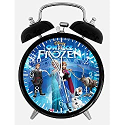 Disney Frozen Alarm Desk Clock 3.75 Room Decor E08 Will Be a Nice Gift