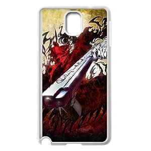 Hellsing Anime Samsung Galaxy Note 3 Cell Phone Case White TPU Phone Case SV_113922