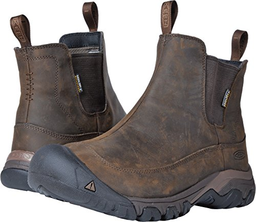 KEEN Men's Anchorage Boot iii wp-m Hiking, Dark Earth/Mulch, 10.5 M US ()
