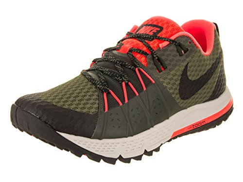 Sequoia Olive Running Nike Total Wildhorse Air 4 Zoom Medium Black 208 Scarpe Crimson Verde Uomo CCq7zBw