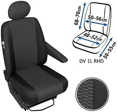 ARES Sitzbezuge Vordersitze DV1L1LRHD 21 DV-AR-1L1LRHD