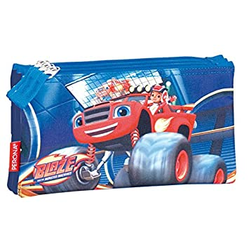 Blaze And Monster Machines Pencil Case Triple Blaze And Monster