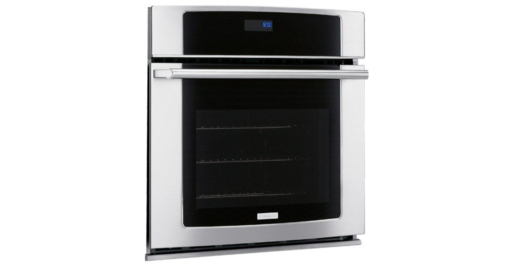 EW30EW55GS Wave-Touch Series 30'' Single Electric Wall Oven With Meat Probe Cobalt Blue Interior Wave-Touch Electronic Controls 4.2 cu. ft. Self-Cleaning Convection Oven & In Stainless by Electrolux (Image #1)