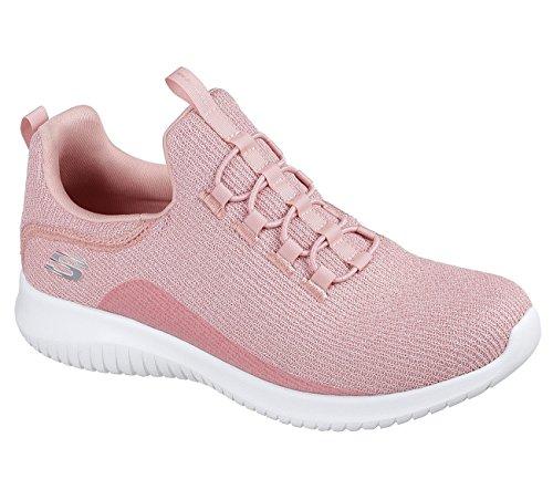 Skechers Sport Damen Ultra Flex Sneaker Hell-Pink