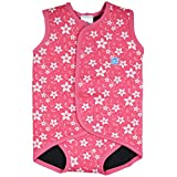 Splash About Baby Wrap Neoprene Wetsuit (Pink Blossom, Medium)