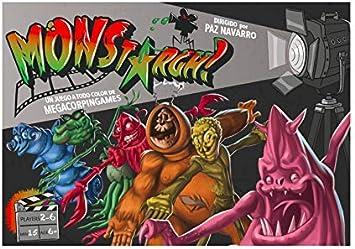 MONSTArgh - Juego de Mesa [Castellano]: Amazon.es: Juguetes y juegos