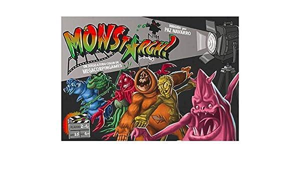 MONSTArgh - Juego de Mesa [Castellano]: Amazon.es: Juguetes ...