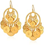 Ben-Amun Moroccan Coin 24K Gold Plated Vintage