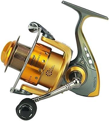 Spinning Fishing Reel 13 + 1 Bearings Left Right Manija ...