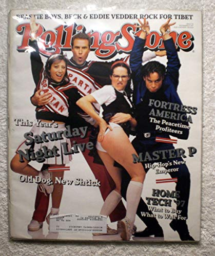 Will Farrell, Molly Shannon, Cheri Oteri & Chris Kittan - Cast of Saturday Night Live - Rolling Stone Magazine - #774 - November 27, 1997 - Fortress America: The Peace Time Profiteers, Master P: Hip-Hop's New Emperor, Rock for Tibet articles