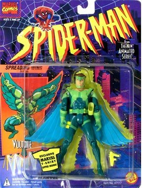 VULTURE * Spreading Wings Action * 1994 Spider-Man The New A