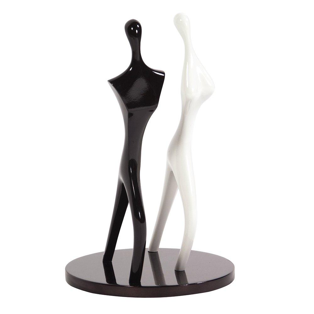【10%OFF】 Dancing Couple Couple B06ZY32V73 Sculpture Dancing inブラックandホワイト B06ZY32V73, エチュードハウス 公式ショップ:0faceaa5 --- ballyshannonshow.com