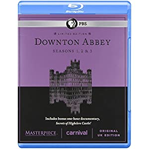 Masterpiece Classic Downton Abbey Season 1 2 and 3 ( Blue Ray) (2010)