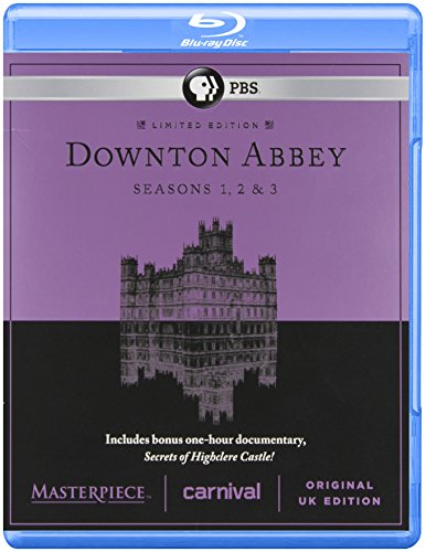 Masterpiece Classic Downton Abbey Season 1 2 and 3 ( Blue Ray) [Blu-ray] (Downton Abbey Season 1 Blu Ray)