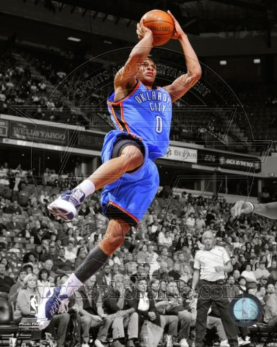 Russell Westbrook OKC Thunder NBA Spotlight Action Photo #12 8x10 by NBA