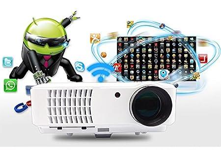 Videoproiettore Risoluzione 4000 Lumen Proiettore 200 pollici