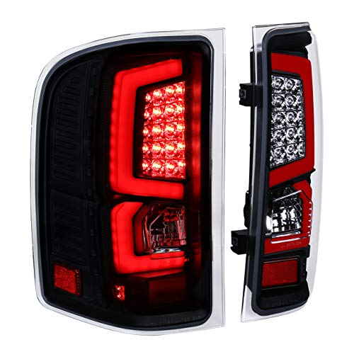 AJP Distributors New Generation Replacement LED C-Streak Tail Lights For Chevy Silverado 2007 2008 2009 2010 2011 2012 2013 07 08 09 10 11 12 13