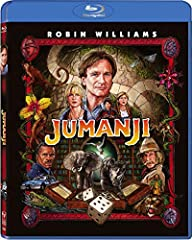 When young Alan Parrish discovers a mysterious board game, he doesn't realize its unimaginable powers, until he is magically transported before the eyes of his friend, Sarah, into the untamed jungles of JUMANJI! 26 years later he is freed fro...