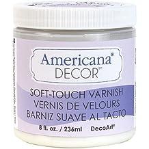 Brand New Americana Decor Varnish 8oz-Soft Touch Brand New