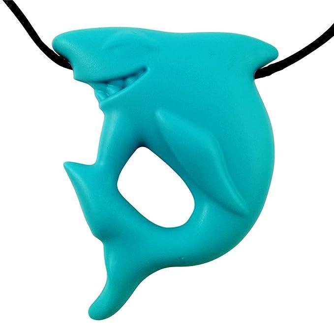 1 opinioni per Ciondolo da squalo del silicone masticabile BPA e ftalati non tossici liberi,