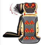 L&M Massage pad Cervical spine Massager Whole body Multifunction Cushion Massage instrument Home Waist Back Massage chair Cushion