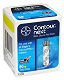 Contour-Next Bayer Blood Glucose Test Strips, 100 Count
