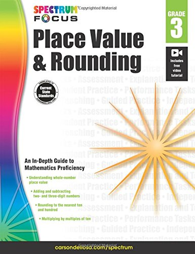 Spectrum Place Value and Rounding, Grade 3 (Spectrum Focus)
