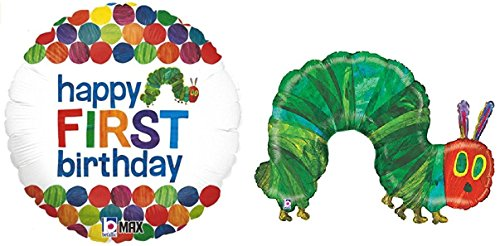 Very Hungry Caterpillar Balloon Bundle: One 43