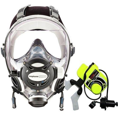(Ocean Reef Neptune Space G. Divers Series Full Face Mask Kit (Medium/Large, White))