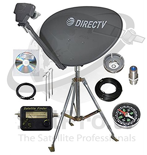 DirecTV SL3 HD Portable Satellite Dish Mobile tripod kit Rv Tailgating Camping - Slimline Directv Dish