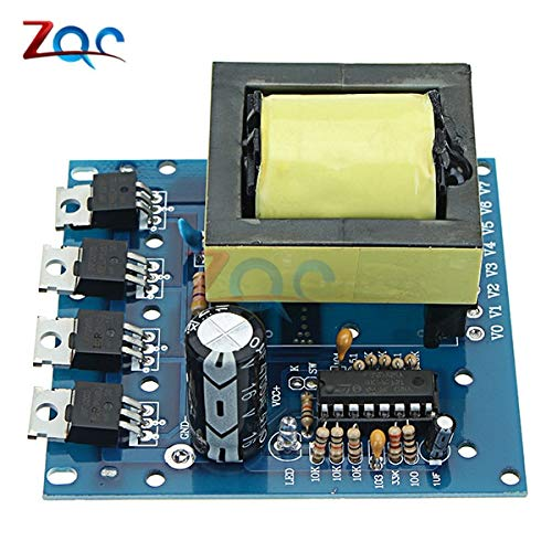 - 500W Inverter Boost Board Transformer Power DC 12V to AC 220V Car Converter Module
