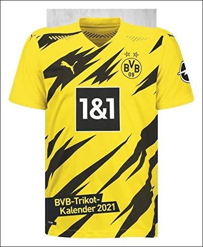 Jahreskalender Borussia Dortmund BVB Postkarten-Kalender Kalender 2021