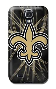 Fashion Popular Nfl New Orleans Saints Team Logo Durable Rubber Samsung Galaxy S4 Case BY RANDLE FRICK by heywan