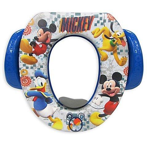 13.25 L x 2.5 H x 11.5 W Disney Mickey Mischief Makers Soft Potty Seat