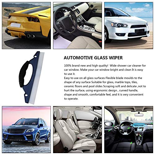 Lesiey Soft Silicone Car Window Wash Cleaner Wiper Squeegee Drying Blade Shower Kit Car Care Wash Cleaner Wiper