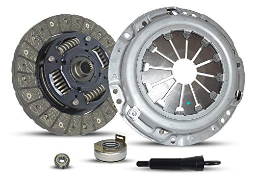 (Clutch Kit works with Geo Metro Chevrolet Metro Base Lsi Sedan 4-Door Hatchback 2-Door 1995-2001 1.3L 1295CC 79Cu. In. L4 Gas Sohc)