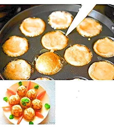 BAHURANI-Aluminium-Non-Stick-Premium-3-Piece-Cookware-Combo-Set-AppamDosa-TawaGrill-Flat-Pan-with-Lid-Red