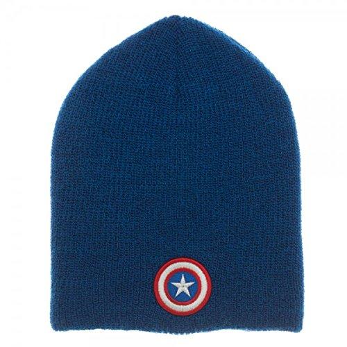Marvel Captain America & Iron Man Reversible Slouch Beanie Hat Bioworld KC418UMAC