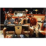 #4: The Big Lebowski Jeff Bridges as The Dude and John Goodman as Walter Sobchak Sitting Next to One Another 8 x 10 Inch Photo